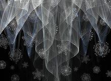Duchas de nieve Imagen de archivo