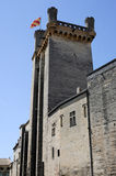 Duche tower at Uzes on Languedoc-Roussillon Stock Image