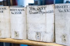 Duchess Anna Amalia's biblioteka w Weimar, Niemcy zdjęcie stock
