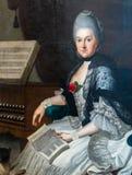 Duchess Anna Amalia's biblioteka w Weimar, Niemcy zdjęcie royalty free