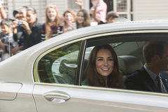 The Duchess of Cambridge Stock Photography
