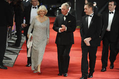Duchess of Cornwall, Prince Charles stock images