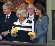 Duchess of Cornwall, Queen royalty free stock photography
