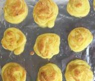 Duchesse Kartoffeln von oben Lizenzfreie Stockfotos