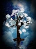 duchowy drzewo royalty ilustracja