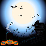 Duchy Halloween ilustracji