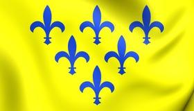 Duchy Parma flaga royalty ilustracja