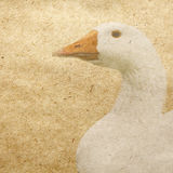 Duck. Vintage wallpaper background with duck Royalty Free Illustration