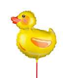 Duck balloon Stock Image