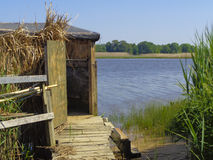 Duck Blind Royalty Free Stock Photos