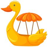 Duck Boat no fundo branco ilustração do vetor