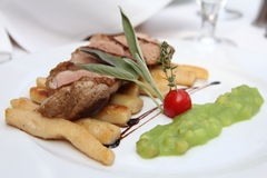 Duck breast Royalty Free Stock Image
