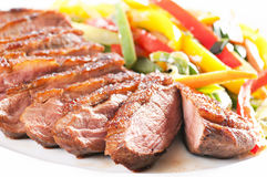 Duck breast filet Stock Photo