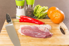 Duck breast fillet Stock Photo