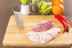 Duck breast fillet Royalty Free Stock Photo