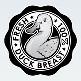 Duck Breast, Fresh 100% Seal Stock Photography