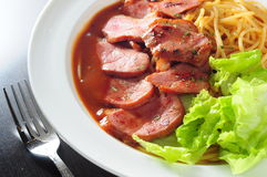 Duck breast meat Stock Image