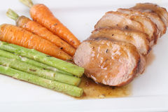 Duck breast steak Stock Image