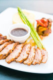 Duck breast steak Royalty Free Stock Images