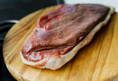 Duck breasts Stock Images