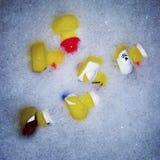 Duck Bubble Bath de goma Imagen de archivo