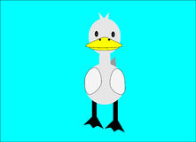 Duck cartoon Stock Photography