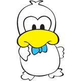 Duck character Royalty Free Stock Photos