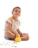 Duck Coin Box Royalty Free Stock Photo
