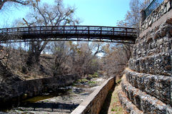 Duck Creek in downtown Silver City Stock Photo