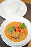 Duck Curry Stock Image