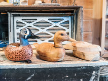 Duck Decoy Stages Royalty Free Stock Photos