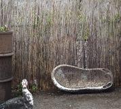 Duck, dump and bath Stock Photo