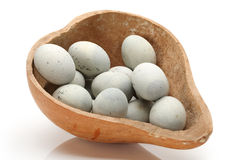 Duck eggs Royalty Free Stock Image