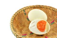 Duck eggs Stock Photography