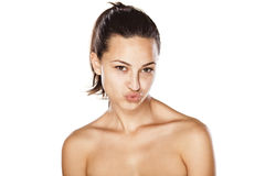 Duck Face Stock Images