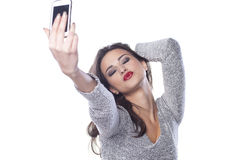 Free Duck Face Selfie Royalty Free Stock Image - 58741736