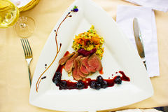 Duck filet Stock Image