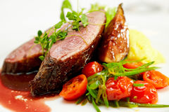 Duck fillet royalty free stock image