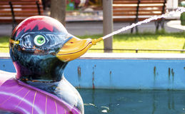 Duck in a fun fair Royalty Free Stock Photography