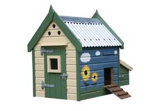 Duck House Royalty Free Stock Image