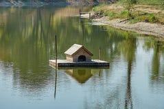 Duck-house Stock Photo