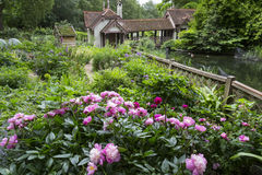 Duck Island Cottage in St. James Park. In London, England Royalty Free Stock Photography