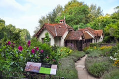 Duck island cottage in St. James's Park. London, UK. Stock Images