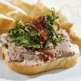 Duck Liver Parfait Stock Photography