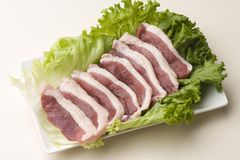 Duck meat Royalty Free Stock Image