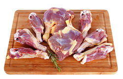 Duck meat Stock Image