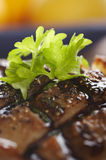 Duck meat close-up Royalty Free Stock Images
