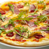 Duck Meat Pizza Royalty Free Stock Photography