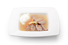 Duck Meat Soup Royalty Free Stock Photography