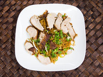 Duck noodle, Asia food Stock Photo